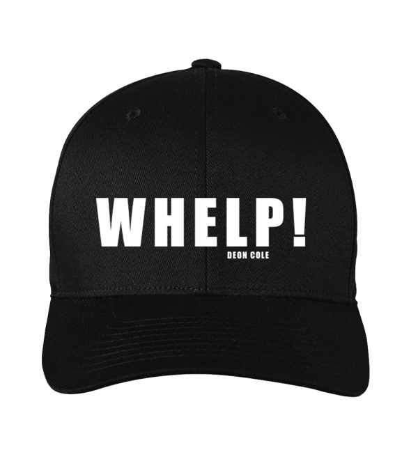 WHELP! Fitted Hat by Deon Cole